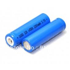 Επαναφορτ/μενη μπαταρία 14500 3.7V (2200mAH)