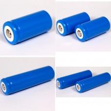 Επαναφ/μενη μπαταρία λιθίου 16340 (18350) 3.7V