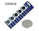 Μπαταρία Λιθίου 3V CR2032 σετ 5 τμχ