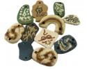 Handmade Κεραμικές Χάντρες - 5 τεμ
