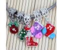 Χριστουγεννιάτικα Μεταλλικά Στοιχειά - Διάφορα Πολύχρωμα 10τ