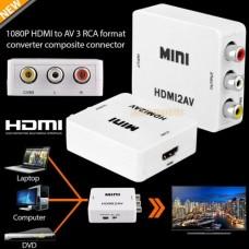 Μετατροπέας Mini Converter HDMI σε RCA / AV Composite