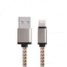 Data Line 2.1A High Speed καλώδιο φόρτισης αλουμινίου για iPhone 5-6-Samsung