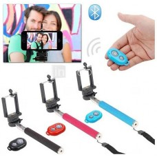 Selfie Stick με Bluetooth Controller για IOS & Android
