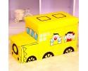 Κουτί Αποθήκευσης - Σκαμπό - Παιδικό Τρενάκι με 2 Θέσεις
