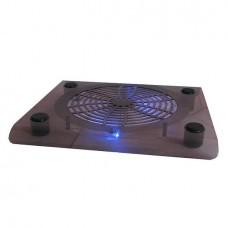 Βάση Ψύξης για Laptop 13-14 inch - με ανεμιστήρα & μπλε LED
