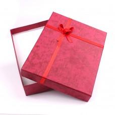 Κόκκινο Κουτί Δώρου για Κοσμήματα