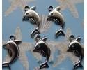 Δελφίνια Μεταλλικά για Κρεμαστά 10 τεμ