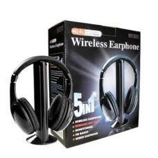 5 σε 1 Ασύρματα Ακουστικά