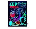 LED NEON Έγχρωμος Φωτιζόμενος Πίνακας - Γράψε / Σβήσε το Δικό σου Μήνυμα !!