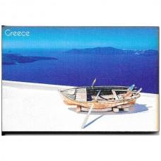 Μαγνητάκι Ψηγείου Ocean View with Boat 7.5cm X 5.0cm