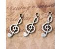 Κρεμαστό Μουσική Νότα - 9 τεμάχια